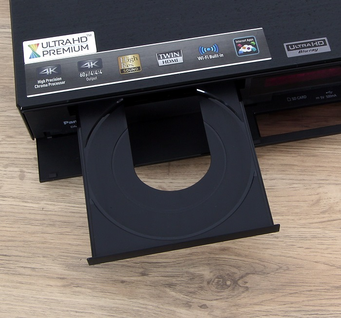 Panasonic DMP-UB900 Disc Schublade