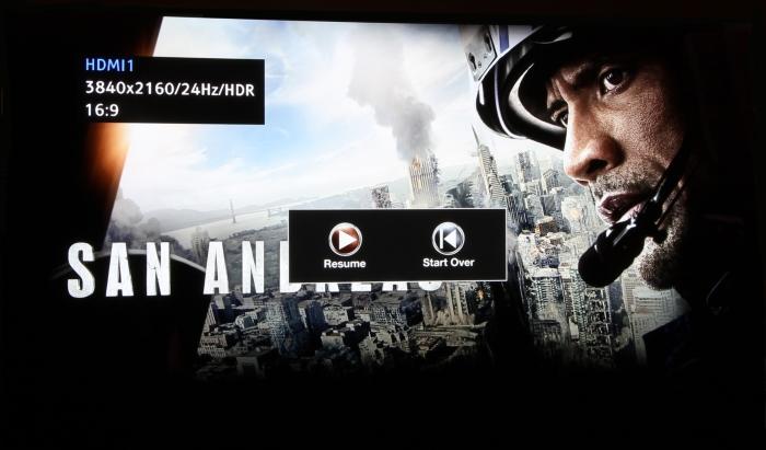 Panasonic HDR OLED 2