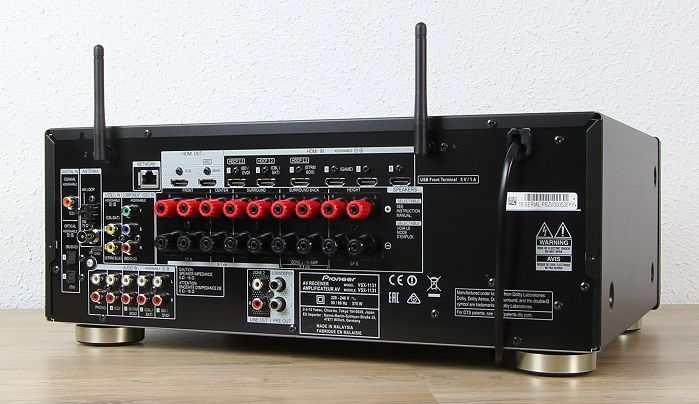 Pioneer VSX-1131 Rueckseite Seitlich
