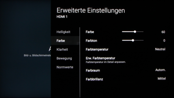 Sony KD-65XD93 Screenshot 21