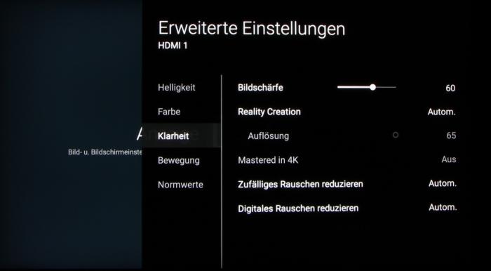 Sony KD-65XD93 Screenshot 22
