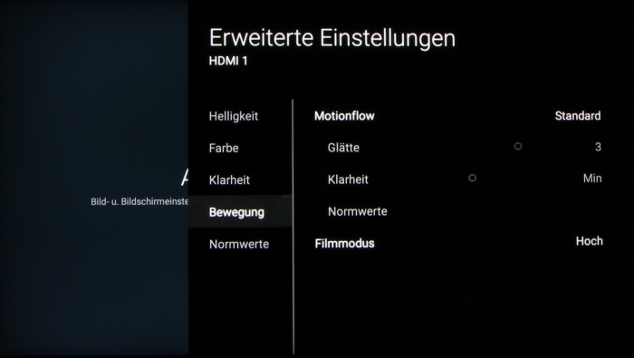 Sony KD-65XD93 Screenshot 23