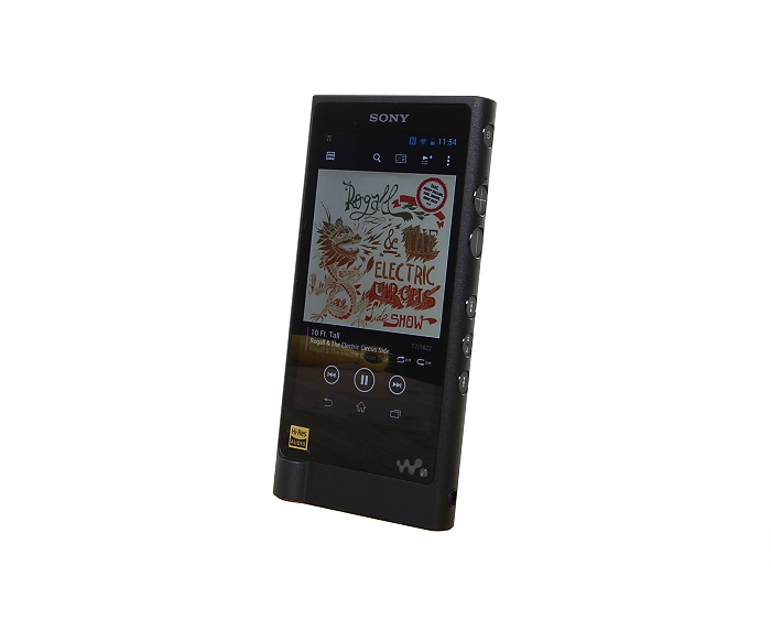 Sony NW-ZX2 Front Seitlich2