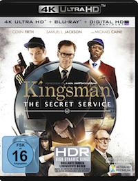 Kingsman - The Secret Service Ultra HD Blu-ray