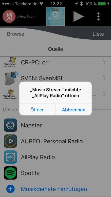 Panasonic Music Streaming App 10
