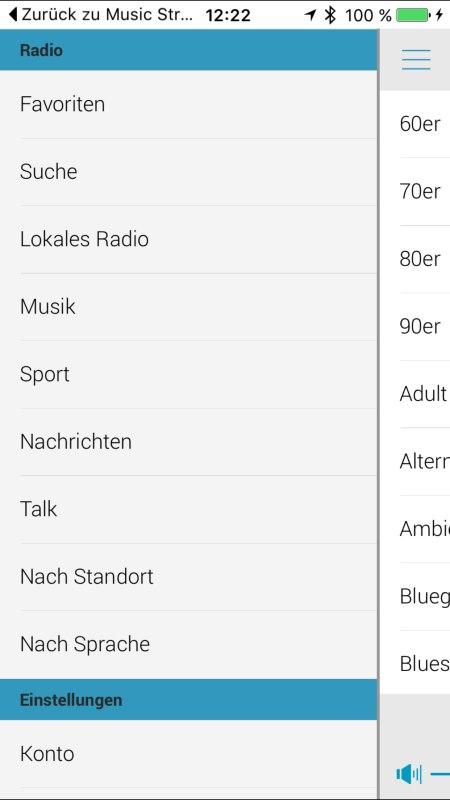 Panasonic Music Streaming App 14