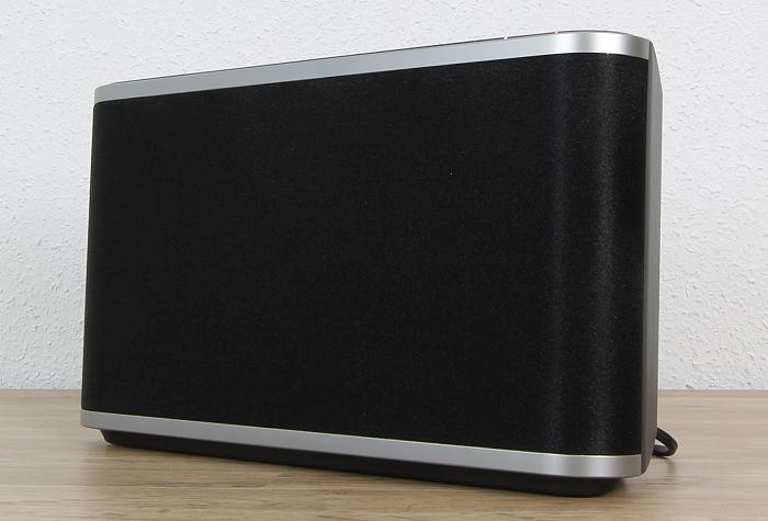 Panasonic SC-ALL9 Front Seitlich1