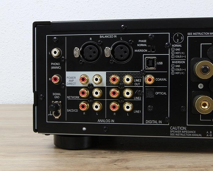 Pioneer A-70DA Anschluesse Rueckseite1