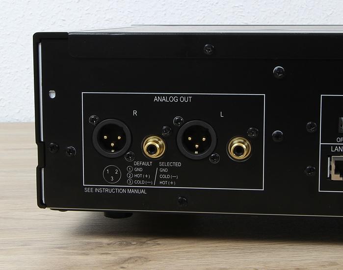 Pioneer N-70A Anschluesse Rueckseite1