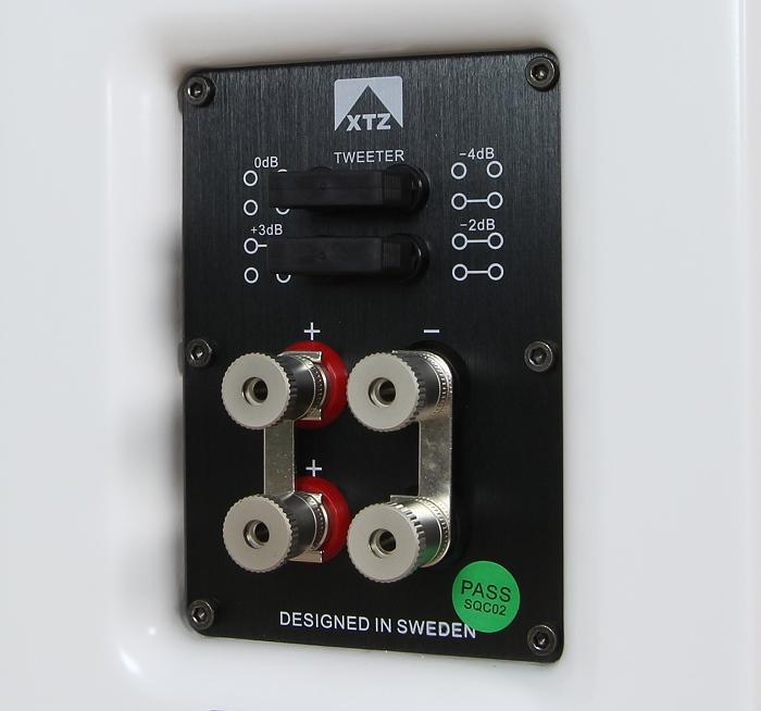 XTZ 99.25 LCR Anschluesse Rueckseite