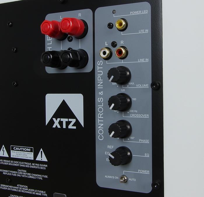 XTZ Sub 8.17 Anschluesse Rueckseite
