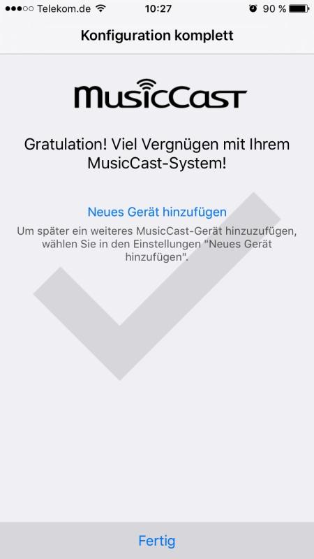 Yamaha MusicCast App 6