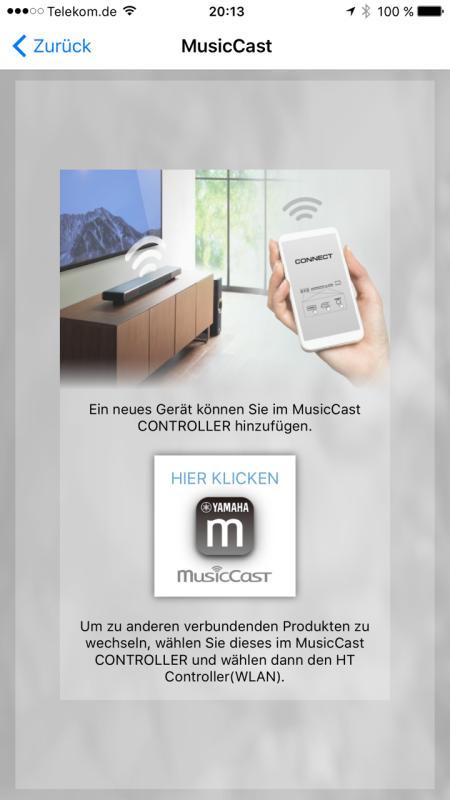 Yamaha MusicCast App_neu7