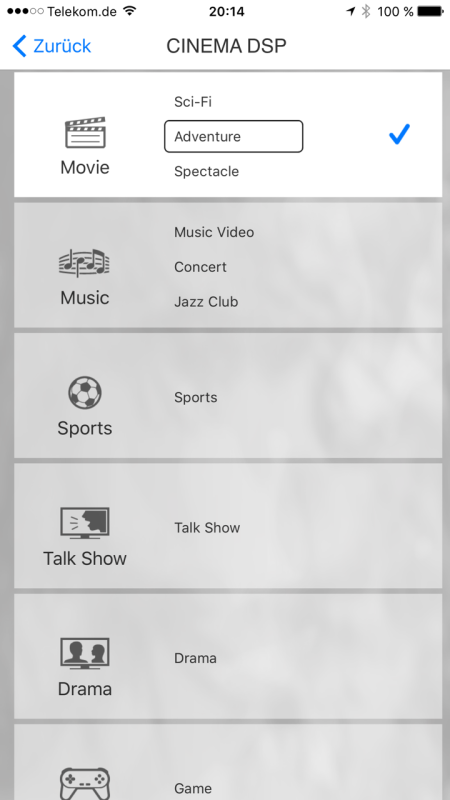 Yamaha MusicCast App_neu8