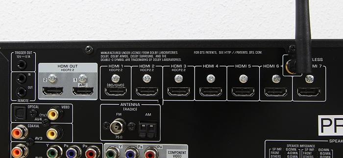 Yamaha RX-A860 Anschluesse Rueckseite3