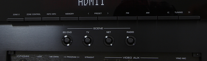 Yamaha RX-A860 Bedienelemente Front3