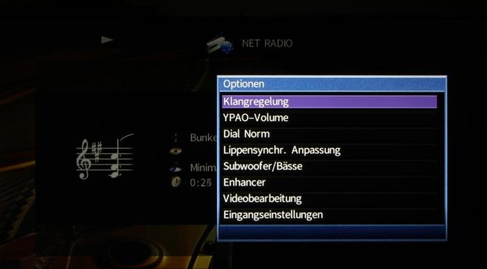 Yamaha RX-A860 Screenshot 27