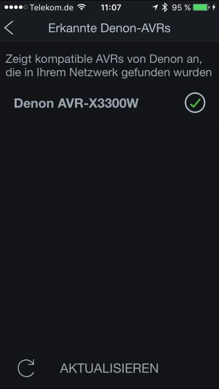 Denon AVR-X3300W App 2
