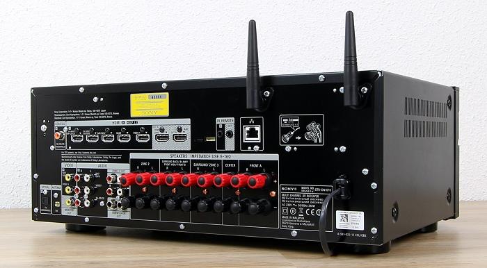 Sony STR-DN1070 Rueckseite Seitlich