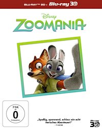 Zoomania Blu-ray 3D