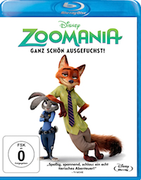 Zoomania Blu-ray Disc
