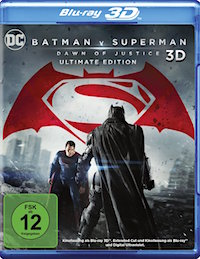 Batman v Superman Dawn of Justice Blu-ray 3D