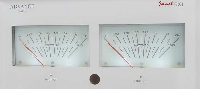 Advance Acoustic BX1 VU Meter