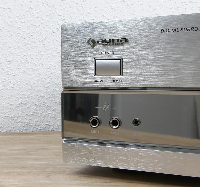 Auna AMP-5100 Bedienelemente Front1