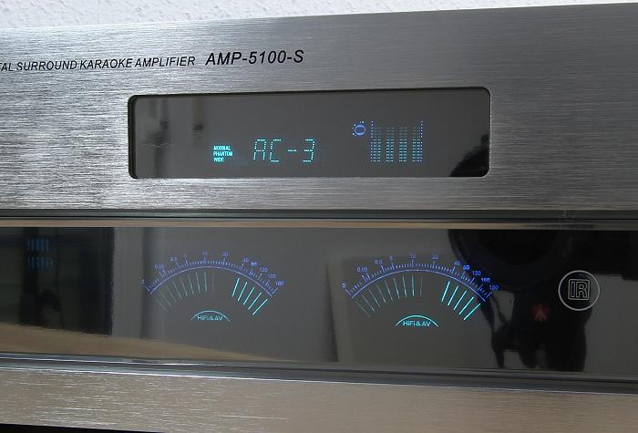 Auna AMP-5100 Display