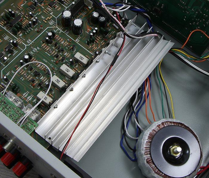 Auna AMP-5100 Innenleben2