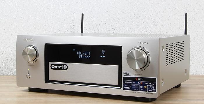 Denon AVR-X4300H Front Seitlich3