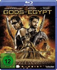 Gods of Egypt Blu-ray Disc