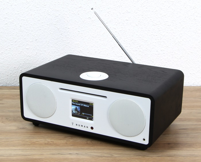 test numan two 2 1 internet radio mit cd laufwerk wlan. Black Bedroom Furniture Sets. Home Design Ideas