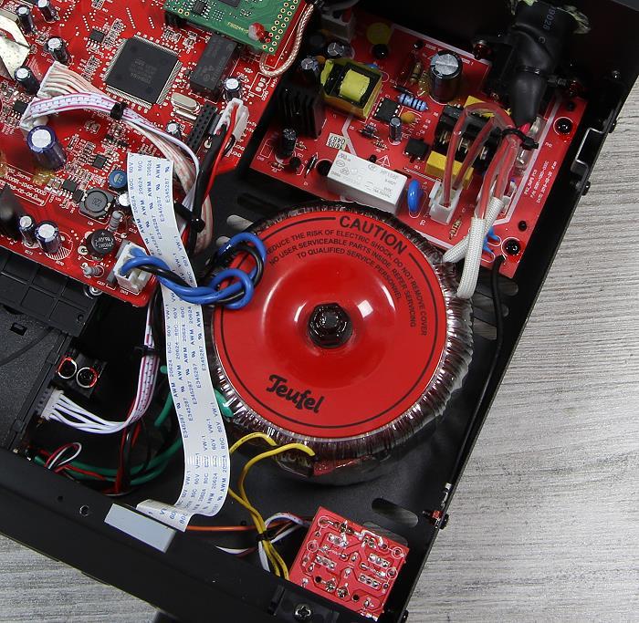Teufel Combo 62 KB62CR Innenleben1