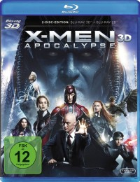X-Men Apocalypse Blu-ray 3D