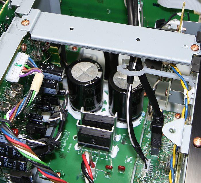 Pioneer SC-LX801 Innenleben3