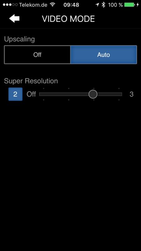 Pioneer SC-LX801_App_Control_VideoMode