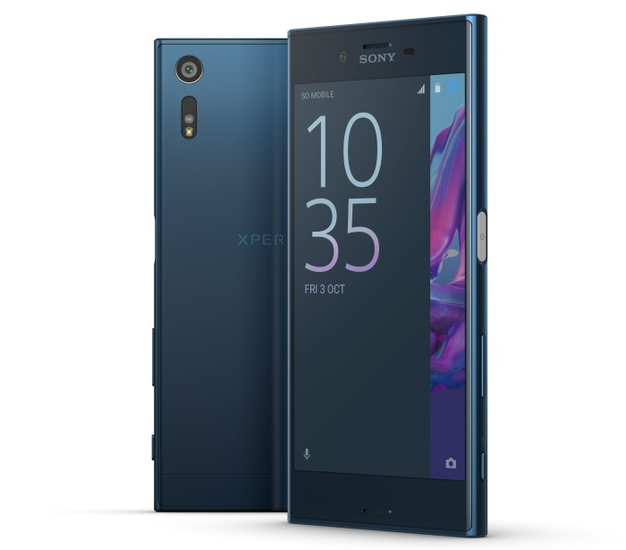 Sony Xperia XZ_Wald-Blau_group