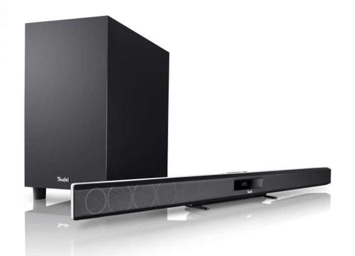 teufel cinebar 11 berarbeitet und in wei erh ltlich area dvd. Black Bedroom Furniture Sets. Home Design Ideas