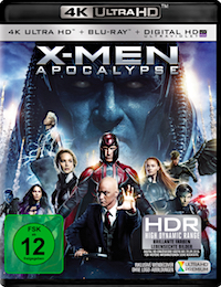 X-Men Apocalypse Ultra HD Blu-ray