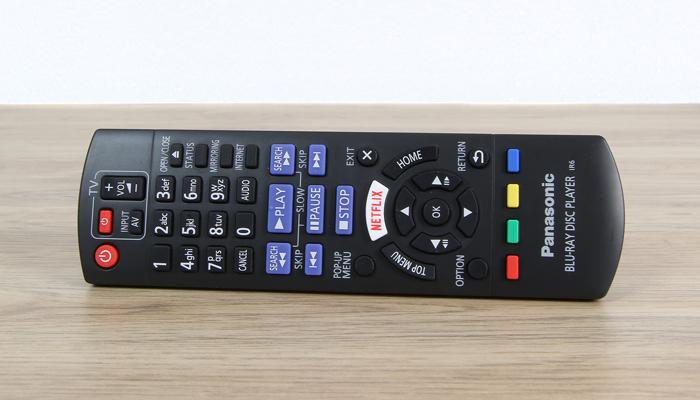 Panasonic-DMP-UB704EGK-Fernbedienung