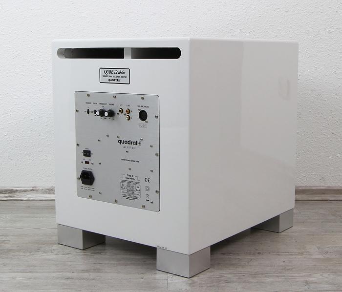 test quadral 5 1 4 lautsprecherset platinum m40 m10base m20 4 x phase a10 und subwoofer qube. Black Bedroom Furniture Sets. Home Design Ideas