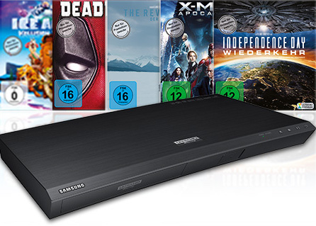 Samsung Ultra HD Blu-ray-Superdeal