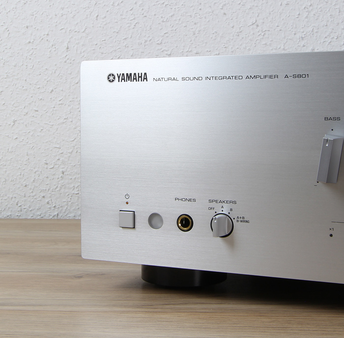 Yamaha-A-S801-Bedienelemente-Front1
