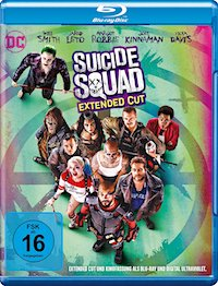 Suicide Squad Blu-ray Disc