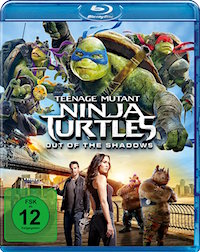 Teenage Mutant Ninja Turtles - Out of the Shadows Blu-ray Disc