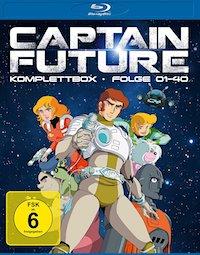 Captain Future Blu-ray Disc