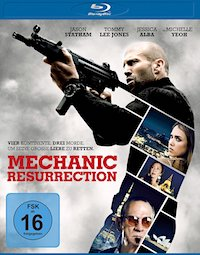 Mechanic - Resurrection Blu-ray Disc