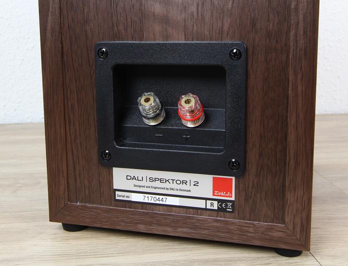 Dali-Spektor-2-Anschluesse