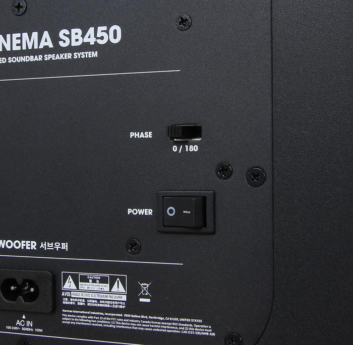 JBL-Cinema-SB450-Sub-Bedienelemente2